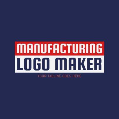 Manufacturing Technology Logo Maker 1418c