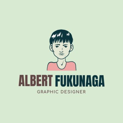 Avatar Logo Maker for a Graphic Designer 1369a