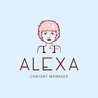Avatar Logo Creator for a Content Manager 1369c