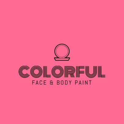 Logo Maker for Face and Body Paint Store 1469c