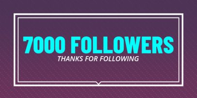 1000 Followers Post Maker for Twitter 619c