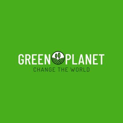 Eco Friendly Logo Maker 1455a