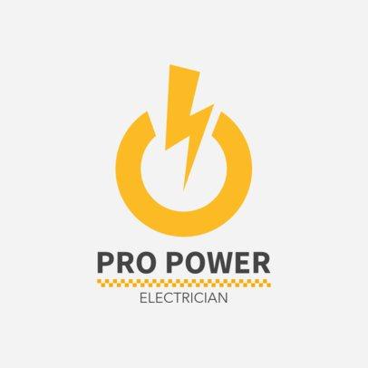 Logo Maker for an Electrician 1473b