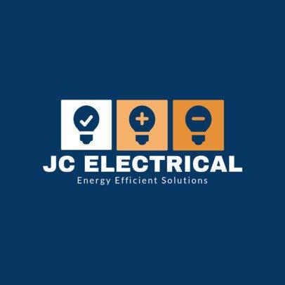 Energy Solutions Business Online Logo Maker 1477b