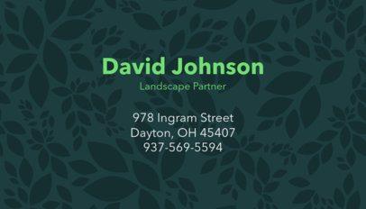 Landscape Partner Business Card Template 658d
