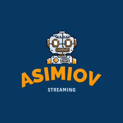 Gaming Live Streaming Logo Template 1463c