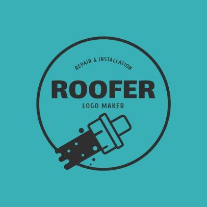 Roofer Logo Maker 1484e