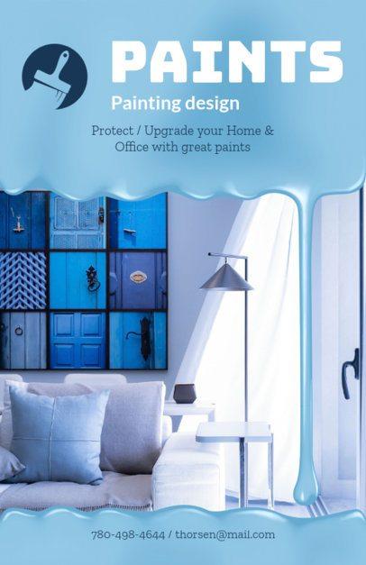 Painting Design Flyer Maker 719b