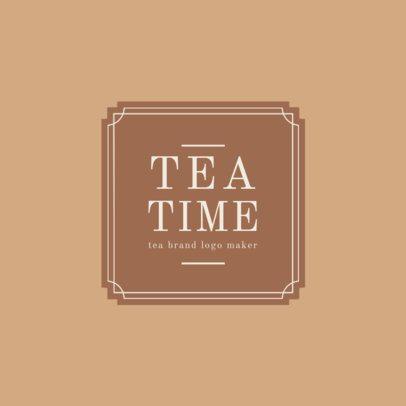 Tea Brand Logo Maker 1345b