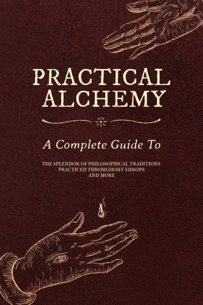 Alchemy Book Cover Maker 539a