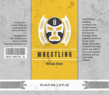 Wrestling Themed Beer Label Maker 765d