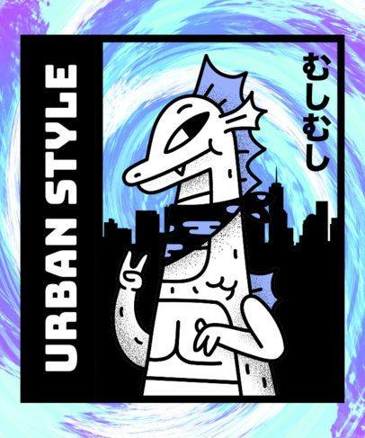 Urban T-Shirt Design Maker14b