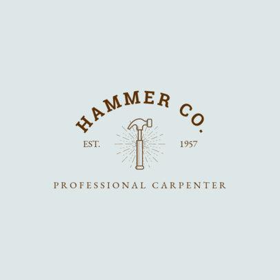 Carpenter Logo Creator 1549c
