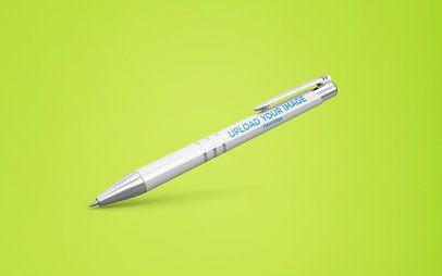 Pen Mockup Tilted on Background 23479
