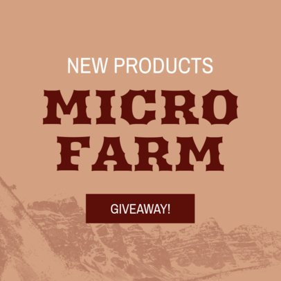 Banner Maker For Farm Product Giveaways 380a