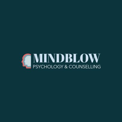 Psychology Logo Maker for a Counselling Agency 1526a