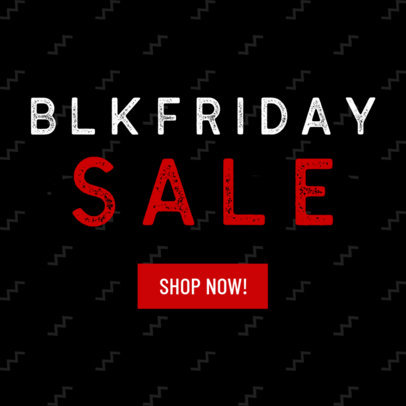 Ad Maker for Black Friday Sales 743a