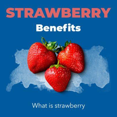 Fruit Benefits Ad Banner Creator 360c