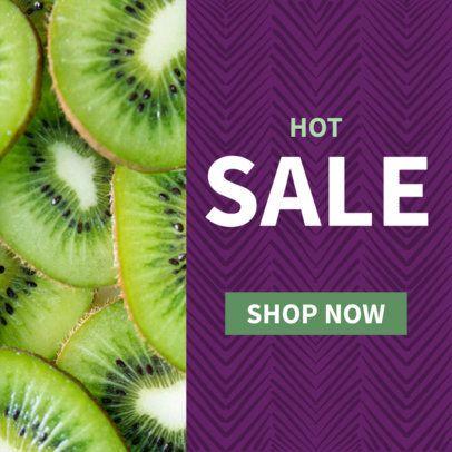 Fruit Sale Ad Banner Template 610d