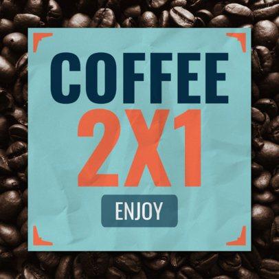 BOGO Coffee Banner Design Template 546e