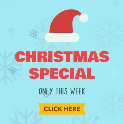 Christmas Offer Banner Maker for a Christmas Special 785b