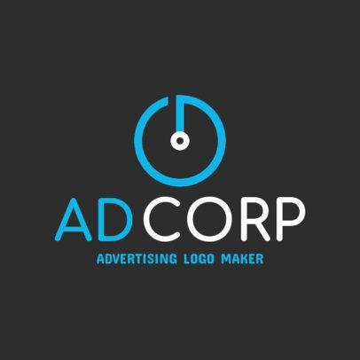 Advertising Company Logo Generator 1518f