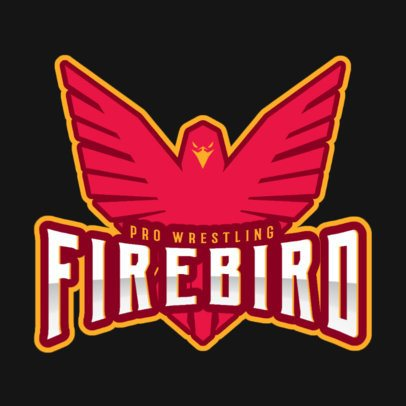 Wrestling Logo Maker for a Pro Wrestling Team 1540