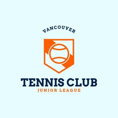 Tennis Logo Generator for Te nnis Club 1604b