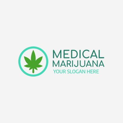 Logo Maker for a Medical Marijuana Clinic 1157 f