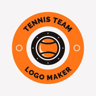 Tennis Logo Creator for a Tennis Team 1641b