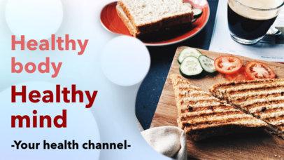 Simple YouTube Thumbnail Maker for a Health Vlog 939b