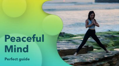 YouTube Thumbnail Maker with Yoga Images 939d