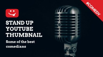 YouTube Thumbnail Maker for a Stand Up Comedy Channel 903a-1903