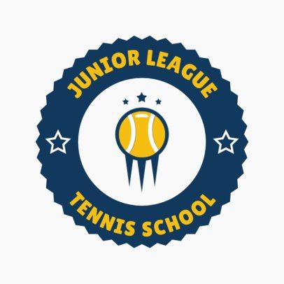 Tennis Logo Generator for a Junior League 1641a