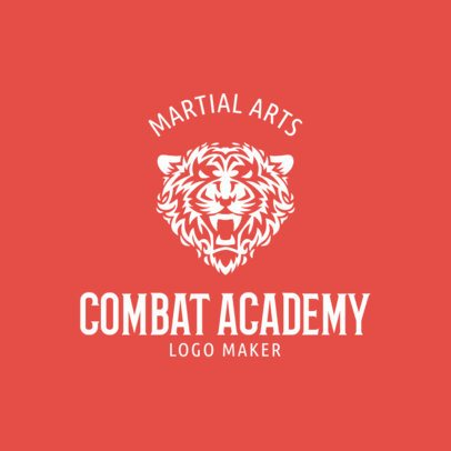 MMA Logo Maker for a Combat Academy 1609b