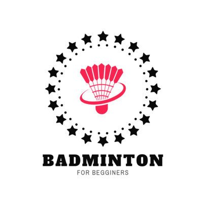 Badminton Club Logo Maker with a Shuttlecock Clipart 1632
