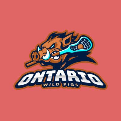 Lacrosse Team Logo Maker 1591b