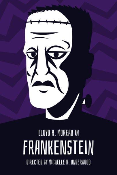 Frankenstein Movie Poster Design Maker 15b