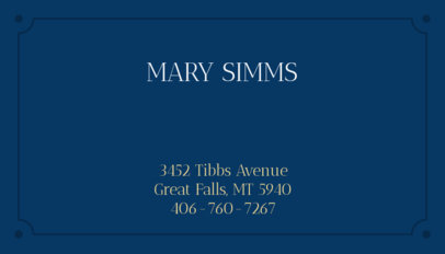 Minimalist Business Card Maker for Lawyers 348b