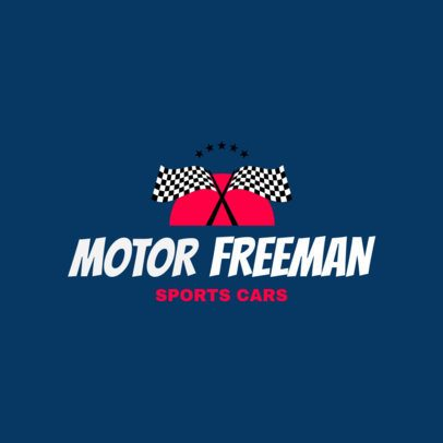 Racing Logo Maker for a Sports Car Racing Club 1646e