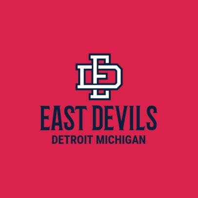 Varsity Sports Logo Design Template 1691b
