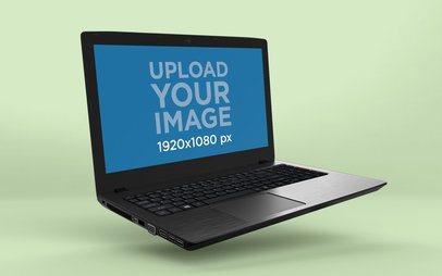 Render Mockup of a Floating Acer Aspire Windows Laptop 25065