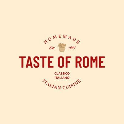 Italian Restaurant Logo Maker 1661