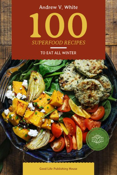 Recipe Book Cover for Superfoods Recipes 909c