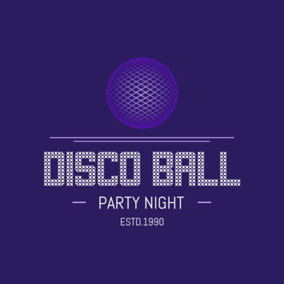 Logo Maker for a Night Club 1681
