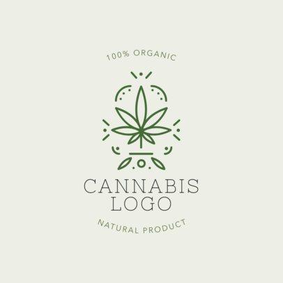 Weed Logo Maker 1779