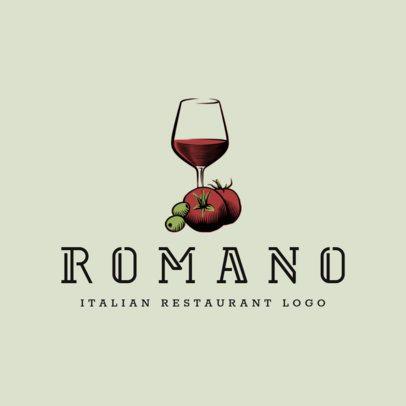 Pasta Restaurant Logo Maker 1663d