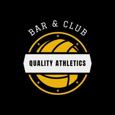 Bar Logo Maker for a Sports Club 1685b