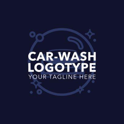 Car Wash Logotype Generator 1757