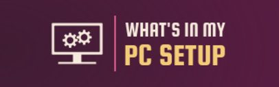 Twitch Panel Generator with Computer Clipart 1105c